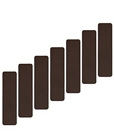 "Scrape Rib Design Non-Slip Stair Tread, Pack of 13, 8"" x 30"""