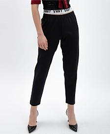 VHNY Striped Black Track Pants