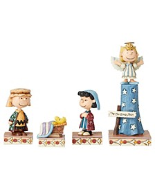 Jim Shore Nativity 4 Piece Set