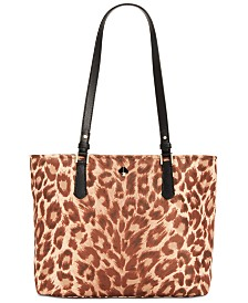 Kate Spade New York Taylor Leopard Medium Tote