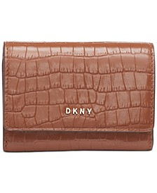 Bryant Croc Leather Card Case, Created for Macy's