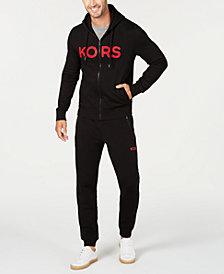 Michael Kors Men's Logo Fleece Joggers & Hoodie, Created for Macy's