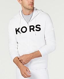 Men's Logo Fleece Full-Zip Hoodie, Created for Macy's