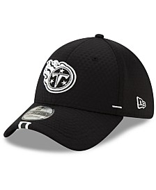 New Era Tennessee Titans Training Black 39THIRTY Cap