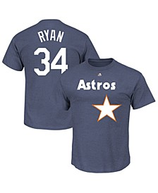 Men's Nolan Ryan Houston Astros Classic Coop Player T-Shirt