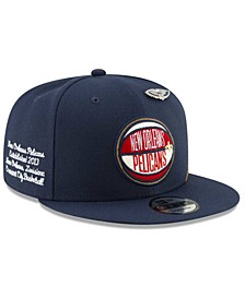 Big Boys New Orleans Pelicans 2019 On-Court Collection 9FIFTY Snapback Cap