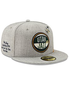 New Era Utah Jazz 2019 On-Court Collection 59FIFTY Fitted Cap