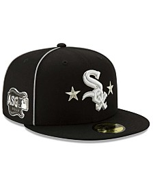 New Era Little Boys Chicago White Sox 2019 All Star Game Patch 59FIFTY Fitted Cap