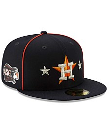 New Era Little Boys Houston Astros 2019 All Star Game Patch 59FIFTY Fitted Cap