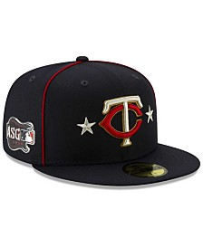 New Era Little Boys Minnesota Twins 2019 All Star Game Patch 59FIFTY Fitted Cap