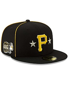 New Era Little Boys Pittsburgh Pirates 2019 All Star Game Patch 59FIFTY Fitted Cap