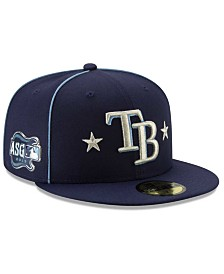 New Era Little Boys Tampa Bay Rays 2019 All Star Game Patch 59FIFTY Fitted Cap