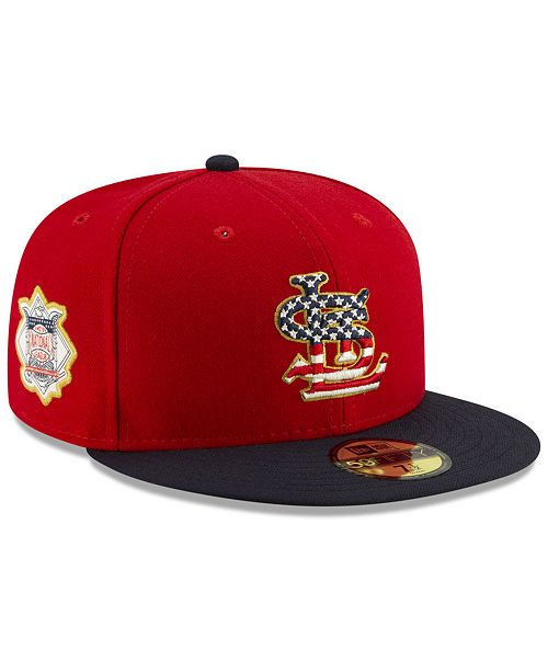 New Era St. Louis Cardinals Stars and Stripes 59FIFTY Cap