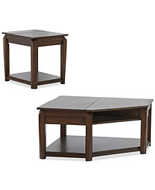 Lorren Table Furniture, 2-Pc. Set (Cocktail Table & End Table)