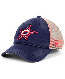Authentic NHL Headwear Dallas Stars Americana Trucker Snapback Cap