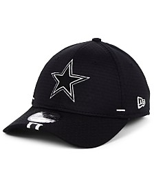 New Era Dallas Cowboys Training Black 39THIRTY Cap