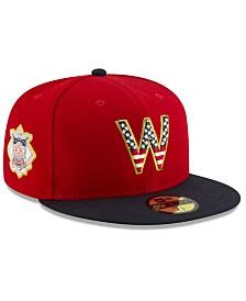 New Era Boys' Washington Nationals Stars and Stripes 59FIFTY Cap