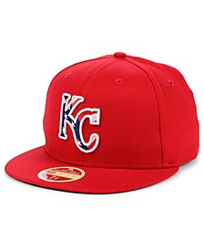Kansas City Royals Retro 2009 Stars and Stripes 59FIFTY Fitted Cap