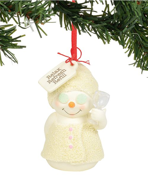 Department 56 Snowpinions Relax, Refresh, Refill Ornament
