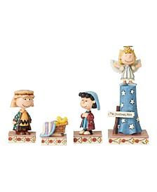 Jim Shore Nativity 4 Pc Set