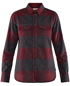 Canada Plaid Hiking Shirt