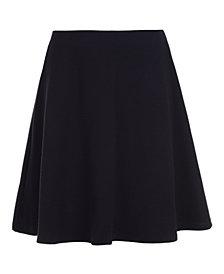 Nautica Big Girls Plus-Size Basket Weave Scooter Skirt