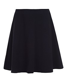 Nautica Big Girls Plus-Size Basket Weave Scooter Skirt