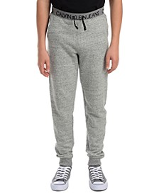 Big Boys Logo Waistband Fleece Joggers