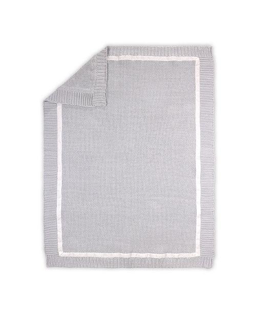 The Peanutshell Farmhouse Knit Blanket