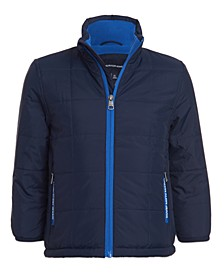 Big Boys Fleece-Lined Jacket