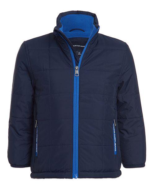 Calvin Klein Toddler Boys Fleece-Lined Jacket