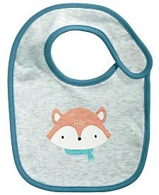 First impressions Baby Boy Fox Bib, Created for Macy's