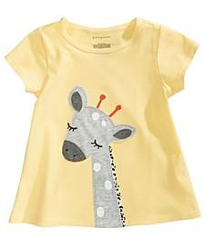 Toddler Girls Cotton Giraffe T-Shirt, Created for Macy's