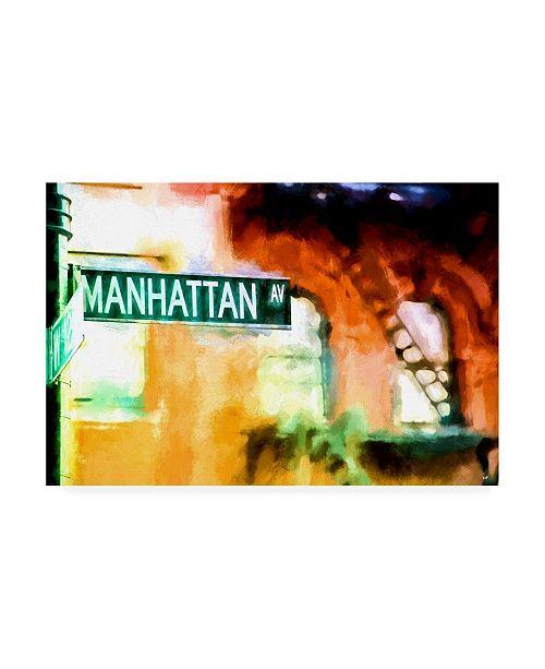 "Trademark Global Philippe Hugonnard Manhattan AV Canvas Art - 36.5"" x 48"""