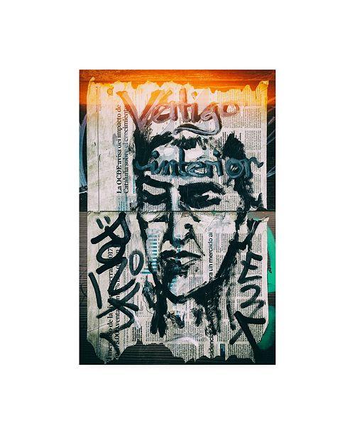 "Trademark Global Philippe Hugonnard Made in Spain Graffiti Wall Papers II Canvas Art - 27"" x 33.5"""