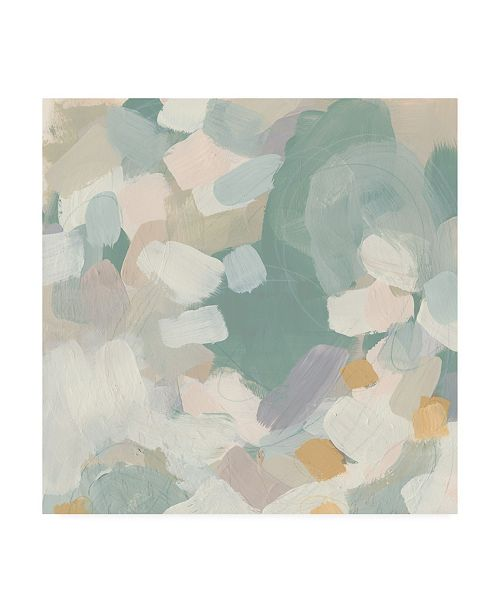 "Trademark Global June Erica Vess Sage Currents I Canvas Art - 19.5"" x 26"""