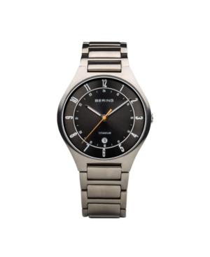 Men's Titanium Case and Multi Link Watch