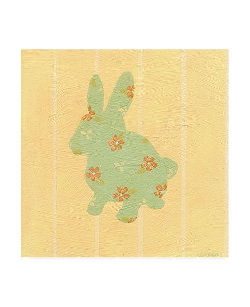 """Trademark Global June Erica Vess Cottage Cuties II Canvas Art - 15.5"""" x 21"""""""
