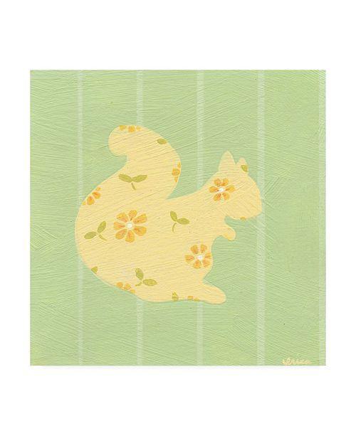 "Trademark Global June Erica Vess Cottage Cuties IV Canvas Art - 15.5"" x 21"""