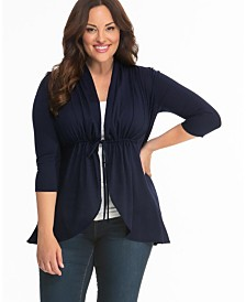 Kiyonna Women's Plus Size Sunset Stroll Bellini