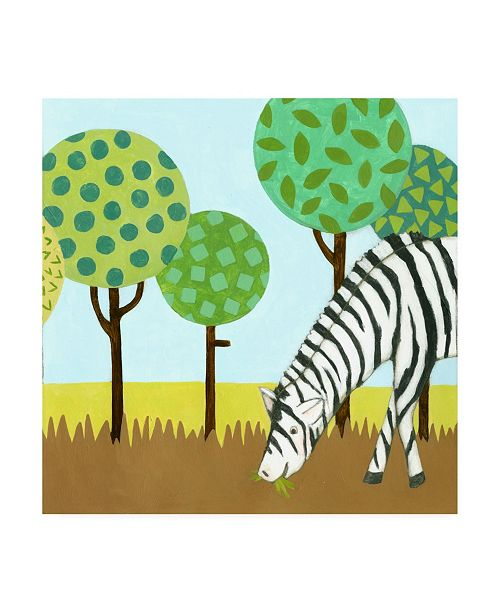 "Trademark Global Megan Meagher Jungle Fun IV Canvas Art - 15.5"" x 21"""
