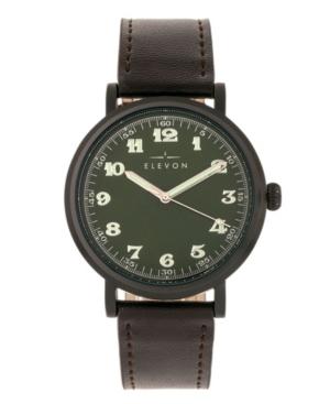Men's Felix Genuine Leather Strap Watch 42mm
