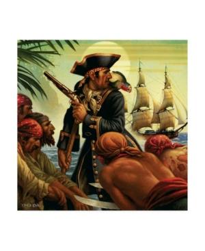 "Dan Craig Treasure Island Canvas Art - 15.5"" x 21"""
