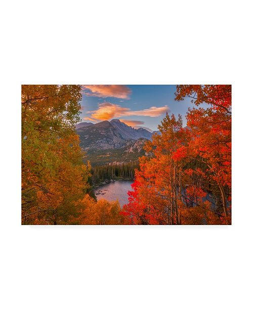 "Trademark Global Darren White Photography Autumn's Breath Canvas Art - 27"" x 33.5"""