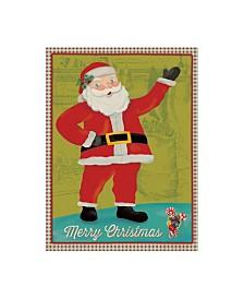 "Holli Conger Retro Christmas 1 Canvas Art - 15.5"" x 21"""