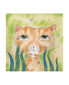 "Whiskers Studio Wild Thing Watercolor Canvas Art - 36.5"" x 48"""