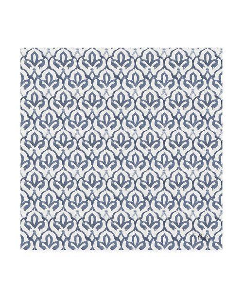 "Trademark Global Pela Studio Bazaar Patchwork Pattern VB Canvas Art - 19.5"" x 26"""
