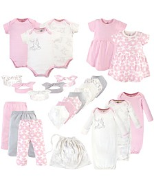 Touched by Nature Organic Layette Set, 25 Piece Set, Bird
