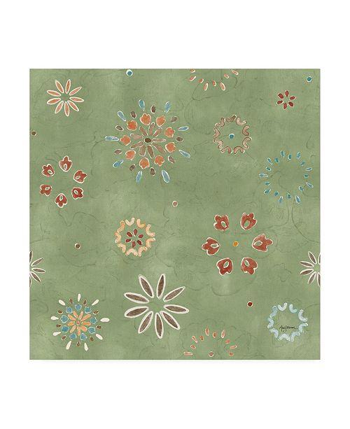 "Trademark Global Mary Urban Autumn Friends Pattern VIF Canvas Art - 19.5"" x 26"""