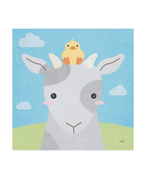 "Trademark Global Moira Hershey Barn Buddies IV Canvas Art - 15.5"" x 21"""